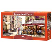 "Castorland (B-060085) - Richard Macneil: ""Lovers in Paris"" - 600 brikker puslespil"