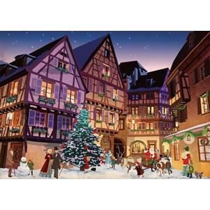 "Piatnik (544248) - ""Vintage Christmas"" - 1000 brikker puslespil"