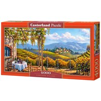 """Castorland (C-400249) - """"Vineyard Village"""" - 4000 brikker puslespil"""