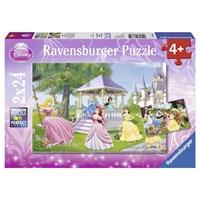 """Ravensburger (08865) - """"Disney Princesses"""" - 24 brikker puslespil"""