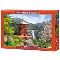 """Castorland (C-103201) - """"Seiganto-Ji Temple, Japan"""" - 1000 brikker puslespil"""