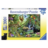 "Ravensburger (12660) - ""Animals of the Jungle"" - 200 brikker puslespil"