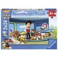 "Ravensburger (07598) - ""Paw Patrol, Ryder and his friends"" - 24 brikker puslespil"