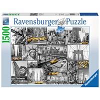 """Ravensburger (16354) - """"New York"""" - 1500 brikker puslespil"""