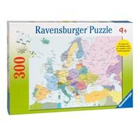 "Ravensburger (13132) - ""Map of Europe (in Dutch)"" - 300 brikker puslespil"