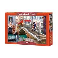 "Castorland (C-200559) - Richard Macneil: ""Venice Bridge"" - 2000 brikker puslespil"
