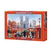 "Castorland ( C-300440) - Richard Macneil: ""Westminster Abbey"" - 3000 brikker puslespil"