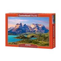 "Castorland (C-150953) - ""Torres del Paine National Park in Patagonia, Chile"" - 1500 brikker puslespil"