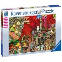"Ravensburger (19644) - Colin Thompson: ""Hidden World"" - 1000 brikker puslespil"