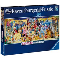 "Ravensburger - ""Disney family photo"" - 1000 brikker puslespil"