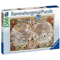 """Ravensburger (16381) - """"Historical map"""" - 1500 brikker puslespil"""