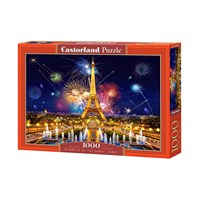 "Castorland (103997) - ""Glamour of the Night, Paris"" - 1000 brikker puslespil"