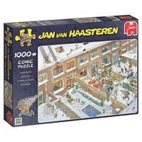 """Jumbo (19030) - Jan van Haasteren: """"Juleaften"""" - 1000 brikker puslespil"""