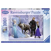 "Ravensburger (10516) - ""In the realm of the snow Queen"" - 100 brikker puslespil"