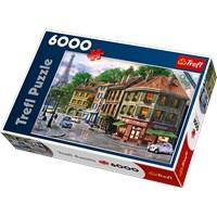 "Trefl (65001) - Dominic Davison: ""Gadestemning i Paris"" - 6000 brikker puslespil"