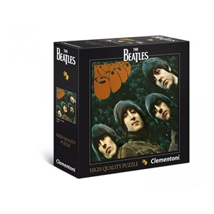 "Clementoni (21300) - ""The Beatles, Rubber Soul, 1965"" - 289 brikker puslespil"