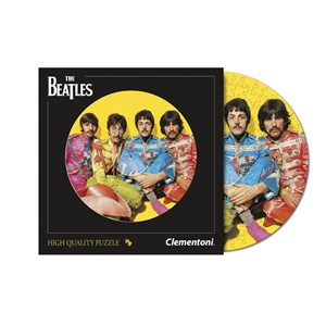"""Clementoni (21400) - """"The Beatles, With a Little Help from My Friends"""" - 212 brikker puslespil"""