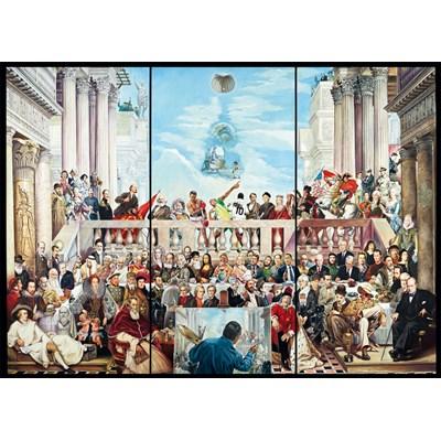 "Schmidt Spiele (59270) - Renato Casaro: ""The Glory of the World"" - 3000 brikker puslespil"