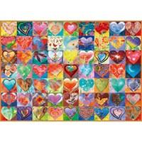 "Schmidt Spiele (58295) - ""Heart To Heart"" - 1000 brikker puslespil"