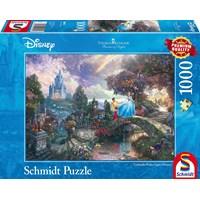 "Schmidt Spiele (59472) - Thomas Kinkade: ""Cinderella"" - 1000 brikker puslespil"