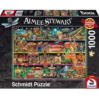 "Schmidt Spiele (59376) - Aimee Stewart: ""Wonderful World of Toys"" - 1000 brikker puslespil"