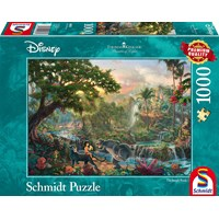 "Schmidt Spiele (59473) - Thomas Kinkade: ""The Jungle Book"" - 1000 brikker puslespil"