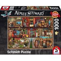 """Schmidt Spiele (59378) - Aimee Stewart: """"Art Treasures"""" - 1000 brikker puslespil"""