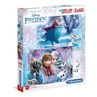 "Clementoni (07119) - ""Frozen"" - 60 brikker puslespil"