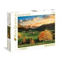 "Clementoni (33545) - ""The Alps"" - 3000 brikker puslespil"