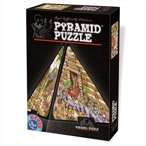 "D-Toys (65964-PC01) - ""Pyramide"" - 504 brikker puslespil"