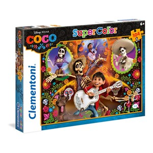 "Clementoni (27096) - ""Coco"" - 104 brikker puslespil"