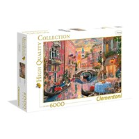 "Clementoni (36524) - ""Venice"" - 6000 brikker puslespil"