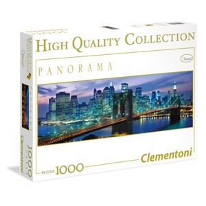 "Clementoni (39434) - ""New York"" - 1000 brikker puslespil"