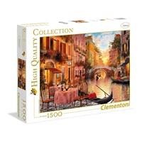 "Clementoni (31668) - ""Venedig"" - 1500 brikker puslespil"