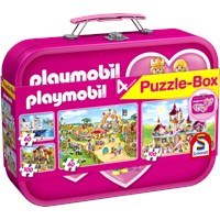 "Schmidt Spiele (56498) - ""Playmobil"" - 60 100 brikker puslespil"