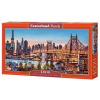 "Castorland (C-400256) - ""Good Evening New York"" - 4000 brikker puslespil"