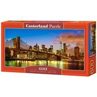 "Castorland (B-060399) - ""Brooklyn Bridge, New York"" - 600 brikker puslespil"