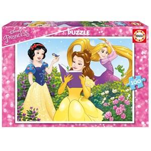"""Educa (17167) - """"Disney Princess"""" - 100 brikker puslespil"""