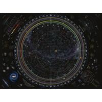"""Ravensburger (16213) - """"Map of the Universe"""" - 1500 brikker puslespil"""