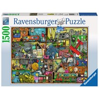 "Ravensburger (16361) - Colin Thompson: ""Cling Clang Clatter"" - 1500 brikker puslespil"