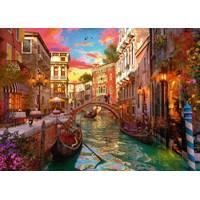 """Ravensburger (15262) - """"Venice Romance"""" - 1000 brikker puslespil"""