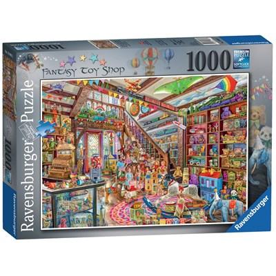 """Ravensburger (13983) - """"The Fantasy Toy Shop"""" - 1000 brikker puslespil"""