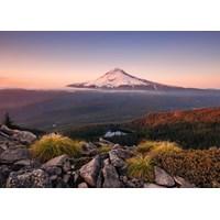 """Ravensburger (15157) - """"Mount Hood, Oregon, USA"""" - 1000 brikker puslespil"""