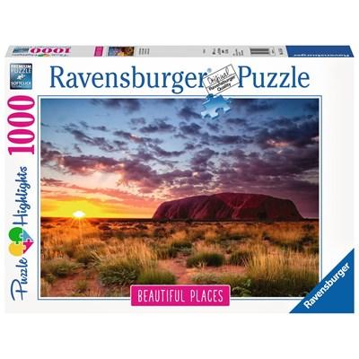 "Ravensburger (15155) - ""Ayers Rock, Australia"" - 1000 brikker puslespil"