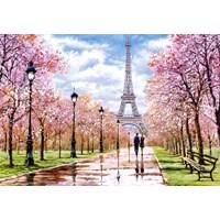 "Castorland (C-104369) - ""Romantic Walk In Paris"" - 1000 brikker puslespil"