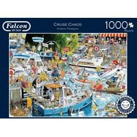 "Falcon (11198) - Graham Thompson: ""Cruise Chaos"" - 1000 brikker puslespil"