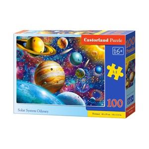 "Castorland (B-111077) - ""Solar System Odyssey"" - 100 brikker puslespil"