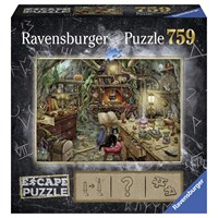 """Ravensburger (19958) - """"Witch's Kitchen (in French)"""" - 759 brikker puslespil"""