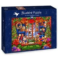 "Bluebird Puzzle (70184) - Ciro Marchetti: ""Ye Old Christmas Shoppe"" - 2000 brikker puslespil"