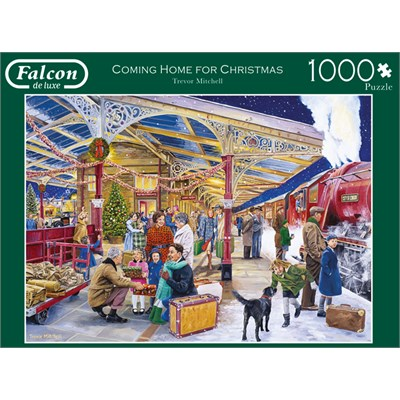 "Falcon (11266) - Trevor Mitchell: ""Coming Home for Christmas"" - 1000 brikker puslespil"